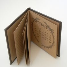 2013 Pocket Monthly Calendar by Rockpile Bindery