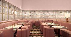 Sketch restaurant, designed by David Shrigley