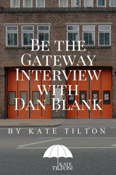 I'm so excited to share with you my interview with Dan Blank! If you are an author this is a much watch/read - Kate Tilton