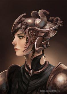 Warrior by ~reddii on deviantART Warrior Women, Fantasy World, Writing Inspiration, Headdress, Equality, Warriors, Avatar, Blood, Princess Zelda