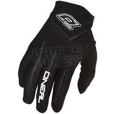 2016 ONeal Element Kids Motocross Gloves - Black