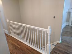 Railing refinished by Chameleon Painting SLC in satin extra white. Laundry Room Cabinets, Kitchen Cabinets, Slc, Chameleon, Cribs, Satin, Pictures, Painting, Furniture