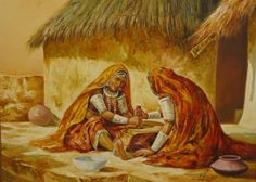 indian oil paintings | OIL PAINTING