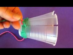 Pencil Pot Cup Weaving - YouTube