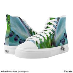 Kalonchoe Colors Printed Shoes from ZoeSPEAK