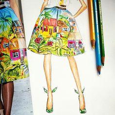Illustrations   #fashionsketch #fashionillustration #fashiondraw http://www.theglampepper.com/2015/07/07/illustrations-5/