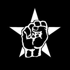New Custom Screen Printed Tshirt Rage Against The Machine Fist Star Band Music Small - 4XL Free Shipping. $16.00, via Etsy.