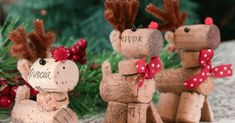 We're Obsessed With These Adorable Wine Cork Reindeer