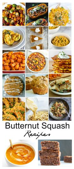 Recipe Ideas| Butternut Squash Recipes - The Idea Room