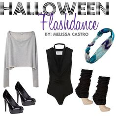 Flashdance great costume Idea!!!