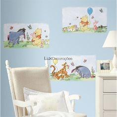 RoomMates Adesivos Disney RMK1637SCS Vinil Personagens Disney -