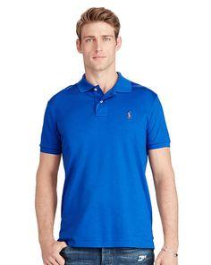 Pima Soft-Touch Polo Shirt - Polo Ralph Lauren Custom Fit - RalphLauren.com.  Long Sleeve ...