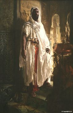 Phila. Musuem of Art - The Moorish Chief (The Harem Guard).  This took my breath away the first time I stood in front of it.  The light is mesmerizing.