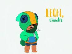 7 Best Leon Brawl Stars Images Leon Stars Star Art