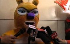 A Chinese man claimed his large lotto jackpot winning in a bear costume, which is something that you do not see every day. Lottery Results, Bear Costume, Lottery Winner, Costumes, Superhero, Chinese, Fictional Characters, Dress Up Outfits, Costume