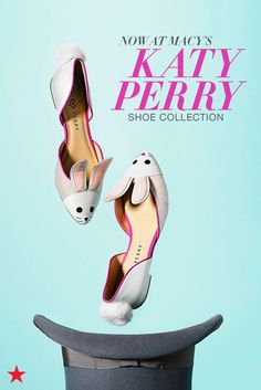 Looking for new shoes to amp up your spring style? Visit macys.com for Katy Perry's shoe collection filled with star-studded sandals, chain-heel mules, bunny flats and more!