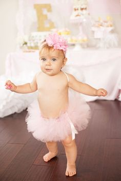 Little Angel's First Birthday Party