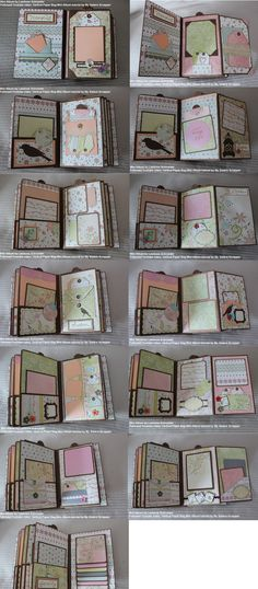 Scrapbooks have become one of the people's most favourite gifts. Though it is not as expensive as any other luxurious gifts, people will remember the effort in making a scrapbook and the uniqueness of a scrapbook since it is a… Continue Reading → 8x8 Scrapbook Layouts, Mini Album Scrapbook, Scrapbook Cards, Pochette Photo, Mini Albums Photo, Album Photo, Christmas Mini Albums, Paper Bag Album, Mini Album Tutorial