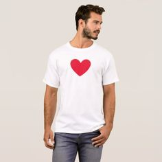 red heart t shirt - Designs For Shirts Ideas