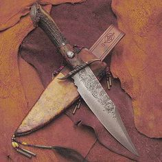New West, Knife Sheath, Cold Steel, Mountain Man, Custom Knives, Leather Projects, Knife Making, Tactical Gear, Blacksmithing