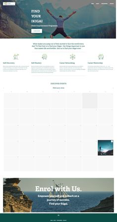 Clean, minimalist website design for The Eurasian Association, Singapore. Find Your Ikigai SG, Youth Empowerment Programme. Empowerment Program, Discovery, Singapore, Finding Yourself, Youth, Minimalist, Journey, Success, Website