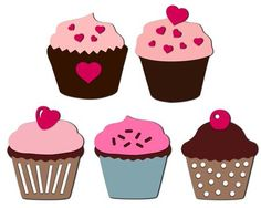I think I'm in love with this design from the Silhouette Design Store! Silhouette Design, Silhouette Studio, Silhouette Cameo, Cupcake Cases, Mix N Match, Special Occasion, Cupcakes, Etsy Shop, Shapes