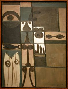 Adolph Gottlieb  gottlieb was inspired by jung and the collective unconscious.  i love jung and gottlieb as well.  his compartmentalization so cool, something i've always tried to integrate into my work but could never make it my own.  anyway...the dude was a master