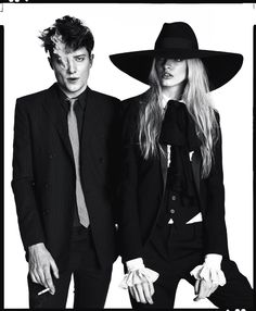 Saint Laurent | Angus Whitehead & Idina May Moncrieffe for GQ Style UK | Photography by Christian Oita