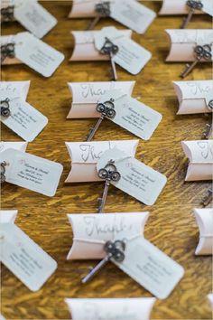 Gallery: vintage keys wedding escort cards - Deer Pearl Flowers
