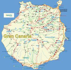 Gran Canaria Tenerife, Great Places, Places Ive Been, Amazing Places, Grand Canaria, Canario, City Maps, Canary Islands, Atlantic Ocean