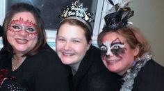 masks for new years, by face flair!
