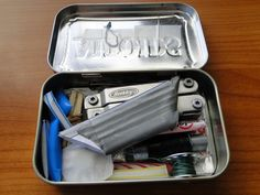 Altoids pocket survival kit