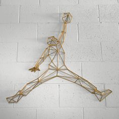 For those with a strong love of quality Michael Jordan art. This limited edition handmade Jumpman wireframe 3D sculpture has your name written all over it.