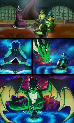 TMNT: Dragons Rising Pg 04 by JazzTheTiger.deviantart.com on @DeviantArt