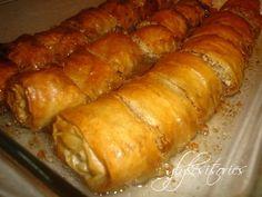 Συνταγές και Ιστορίες για μικρούς αλλά και μεγάλους! Greek Sweets, Sausage, Cooking Recipes, Bread, Food, Sausages, Chef Recipes, Meals, Eten