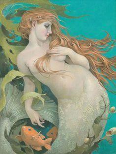 vintagegeekculture: Christina Wyatt's mermaid...