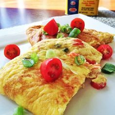 Old Bay Omelet - A crab omelet, with a little kick!