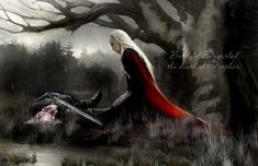 Thranduil finds his father after Dagorlad