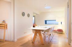 Arco lance- vitra eames plastic armchair- project Domez interieur architectuur