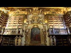 Visita Guiada RTP2 Biblioteca Joanina , Coimbra Part 1 2