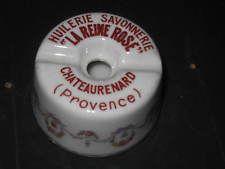 tres beau encrier LA REINE ROSE CHATEAURENARD PROVENCE HUILERIE SAVONNERIE