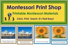 Montessori Print Shop Printables Free Downloads PDF