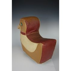 How clever they were way back in the A footstool aka ottoman .aka Hassock which could also function as a toy! The Hassock has wooden wheel. Wooden Wheel, Moleskine, Ottoman, Clever, Art Deco, Leather, Home Decor, Decoration Home, Room Decor