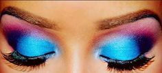 Find images and videos about makeup, eyes and make up on We Heart It - the app to get lost in what you love. Fancy Makeup, Rave Makeup, Kiss Makeup, Gorgeous Makeup, Pretty Makeup, Makeup Geek, Makeup Art, Makeup Looks, Makeup Ideas