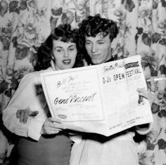 Wanda Jackson and Gene Vincent