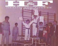 1st Greek Junior Tae Kwon Do Championship in 1984