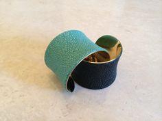 Stingray leather bangles