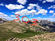 Happy 303 (3/03) Day!  It's a great day to be a Coloradoan AND a CSU Ram! -View from atop Mummy Range at CSU's Mountain Campus-