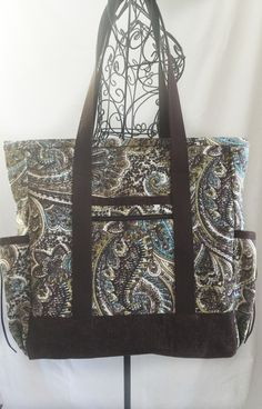 Black and Grey Kitchen Sink Tote, Professional Tote, Carry On ...