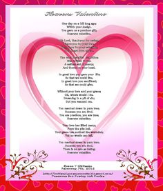 Christian Valentine Poems 5